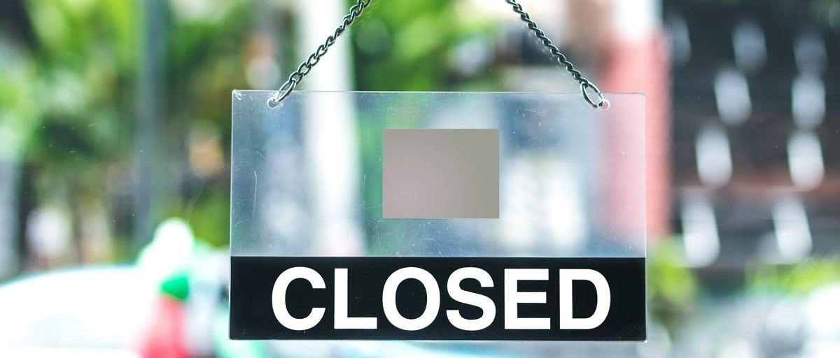 Coronavirus-related Restaurant Closures Header Image