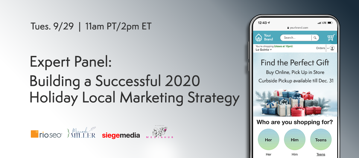 Building a Successful 2020 Holiday Local Marketing Strategy